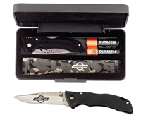 Maglite & Buck Knife Set