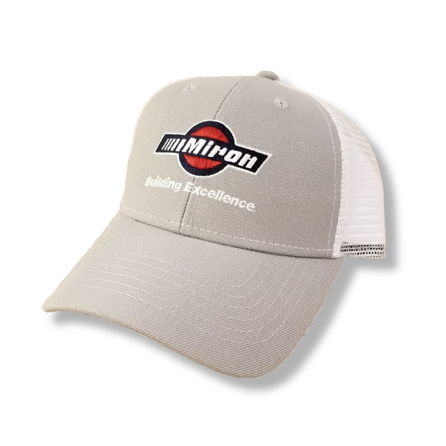 Trucker Mesh Cap - Snap Closure - One Size Fits Most