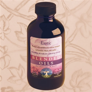Mountain Body Products | Exotic Blended Massage & Bath Oil - 4 oz.