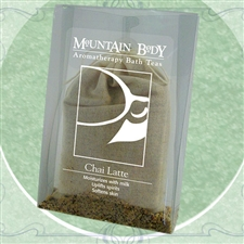 Mountain Body Products | Chai Latte Aromatherapy Bath Tea
