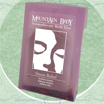 Mountain Body Products | Stress Relief Aromatherapy Bath Tea