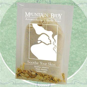 Mountain Body Products | Soothe Your Skin Aromatherapy Bath Tea