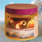 Mountain Body Products | Mountain Glow Mineral Salt Scrub - 16 oz. - Lavender