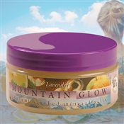 Mountain Body Products | Mountain Glow Mineral Salt Scrub - 8 oz. - Lavender | Mountain Body Products