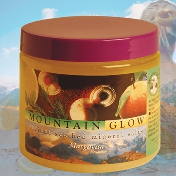 Mountain Body Products | Mountain Glow Mineral Salt Scrub - 16 oz. - Margarita (natural alpha hydroxy)