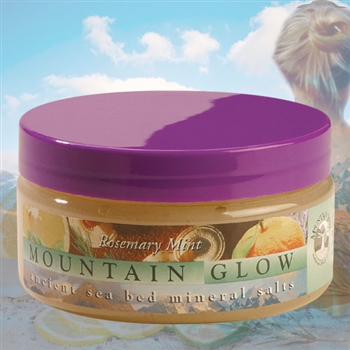 Mountain Body Products | Mountain Glow Mineral Salt Scrub - 8 oz. - Rosemary Mint