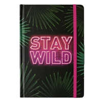 Stay Wild Bound Journal Hardcover Notebook