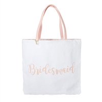 Bridesmaid Floral Reversible Tote