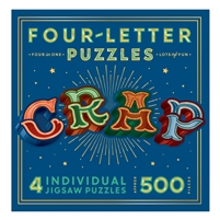CRAP Four-Letter Shaped Jigsaw Puzzle 545 Pc