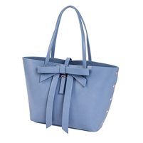 Sydney Love Vegan Leather Large Bow Tote