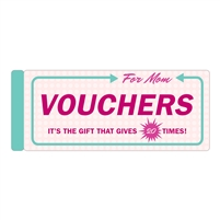 Vouchers For Mom Mothers Day Off Unique Coupon Booklet