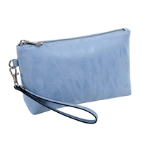 Sydney Love Vegan Leather Wristlet Travel Cosmetic Case