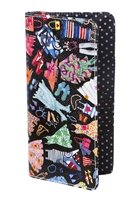 Sydney Love Wardrobe Print Large Passport Wallet
