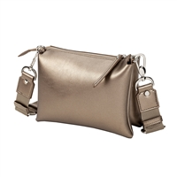 Sydney Love Metallic Vegan Leather Crossbody