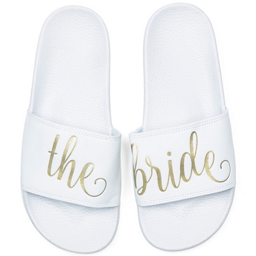 The Bride Slide Sandals