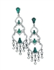 Robert Rose Chandelier Drop Earrings