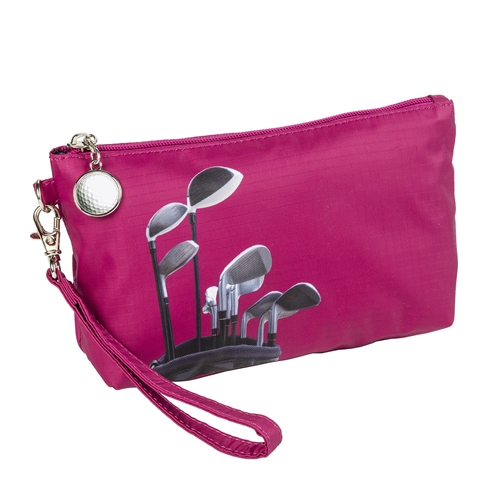 Sydney Love Sport Golf Clubs Wristlet Travel Cosmetic Case