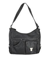 Rosetti 'Kit n Kaboodle' Ostrich Embossed Hobo