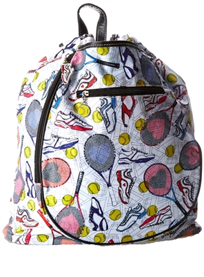Sydney Love Tennis Everyone Racquet Backpack