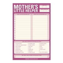 Knock Knock Mother's Little Helper Checklist Note Pad