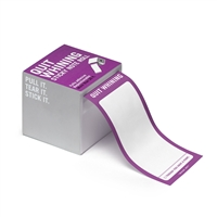 Knock Knock Quit Whining Sticky Notes 26 Ft Roll Purple