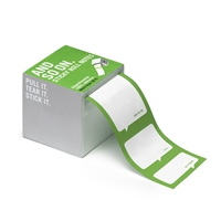 Knock Knock And So On Sticky Notes 26 Ft Roll Green