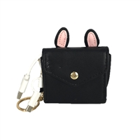 Bunny Ears Charging Portable Power Bank Key Chain