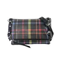 Sydney Love Plaid Fold Over Convertible Crossbody