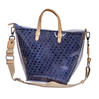 Sydney Love Denim Stars Jelly Convertible Tote