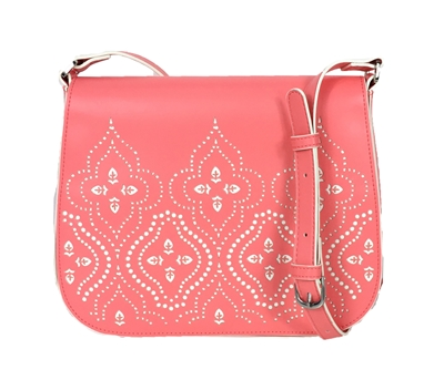 Vera Bradley Laser-Cut Saddle Crossbody