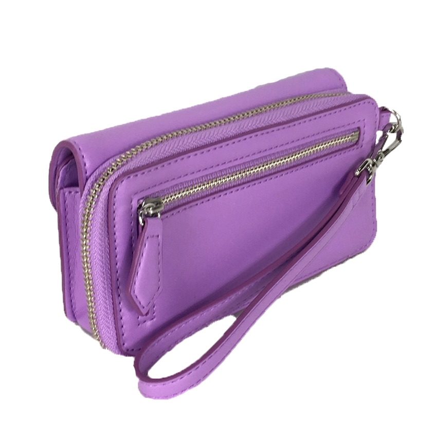 new product 632d6 c5a00 Vera Bradley Faux Leather iPhone Smartphone Wristlet, Lilac