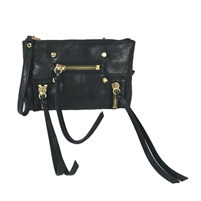 Botkier Logan Convertible Leather Wristlet Crossbody