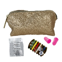 S.O.S. Everyday Essentials Emergency Mini Glitter Travel Cosmetic Kit