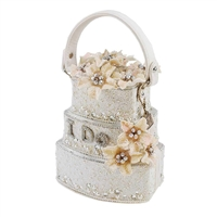 Mary Frances Sweet Beginnings Wedding Cake Bridal Bag