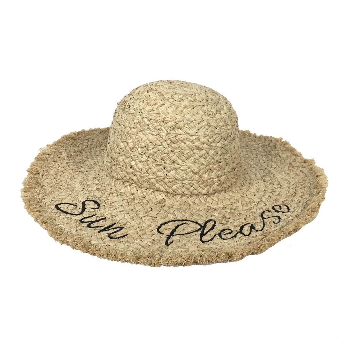 af6504f4 Fashion Culture 'Sun Please' Packable Woven Sun Hat, Natural