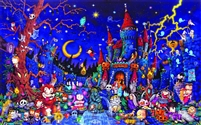 SunsOut Spooky Night 300 Piece Jigsaw Puzzle