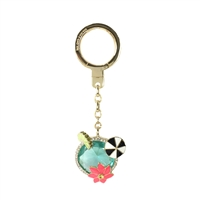 Kate Spade Tropical Cocktail Keychain Bag Charm