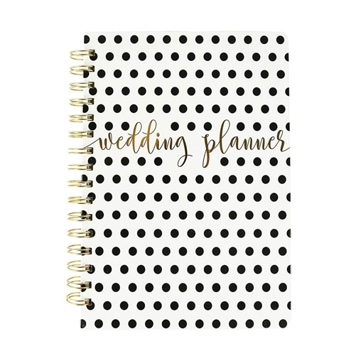 Wedding Planner Hard Cover Spriral Bridal Organizer