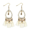 Jewelry Collection Issa Beaded Tassel Drop Earrings