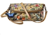 Sydney Love Botanical Print Nylon Crossbody Wristlet