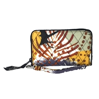 f42b21d5673a Vera Bradley Front Zip Wristlet Wallet
