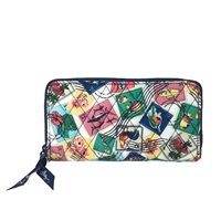 Vera Bradley RIFD Georgia Zip Around Wallet
