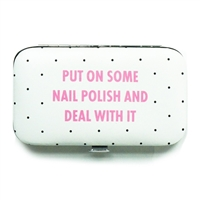 Put On Some Nail Polish & Deal Manicure Travel Set