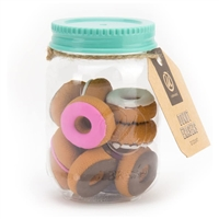U Brands Novelty Mason Jar Donut Erasers 12 Count