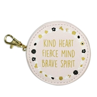 Kind Heart Brave Spirit Earbud Holder Multi Function Case