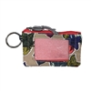 Vera Bradley Lighten Up Zip ID Case Key FOB