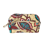 Vera Bradley Iconic Mini Cosmetic Case Makeup Bag