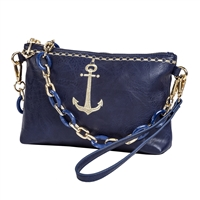 Sydney Love Nautical Anchor Vegan Leather 3 Way Bag