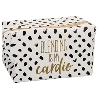 Blending Is My Cardio XL Cosmetic Loaf Case