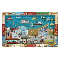 Next Stop: Columbia River Maritime Museum 1000 Pc Jigsaw Puzzl